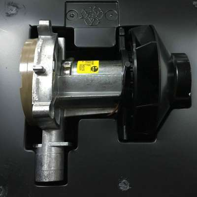 opened plastic case with blower motor Airtronic D2