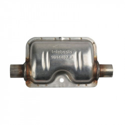 Exhaust muffler d 22 mm
