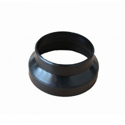 Hot Air pipe adapter 100 - 90 mm