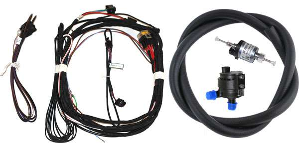 Hydronic S3 mounting kit