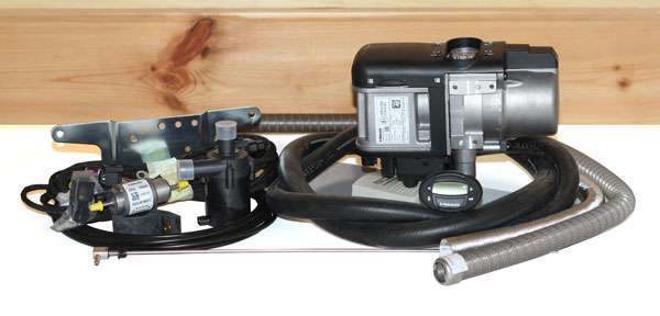 webasto thermo pro 50 24v diesel heater 9026553a. Black Bedroom Furniture Sets. Home Design Ideas